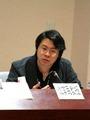 Portrait of Teacher 「Hsiang-Min Shen」